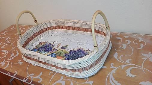 Košík Levandula