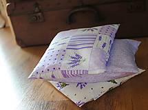 Úžitkový textil - Levandulový vankúšik - 7398865_