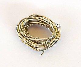 Suroviny - Bezolovnatý cín so striebrom, priemer 1,5 mm, 10g - 7404908_