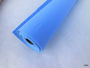 Textil - filc 1 mm country modrý - 7407476_