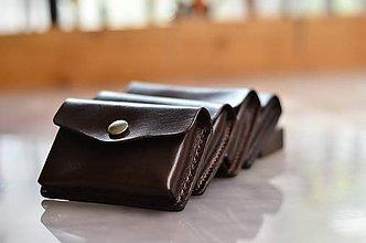 Peňaženky - peňaženka kožená TOM na 10 kariet - 7407624_