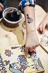 Nezaradené - Dočasné tetovačky - Rozprávkové od SLOVARTu - 7404853_