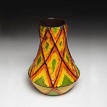 Dekorácie - Keramická váza Rasta - 7403243_