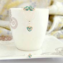 Sady šperkov - Garden (Ag925/1000) skladom - 7405815_