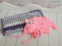 Detské súpravy - Novorodenecký set - 7403899_
