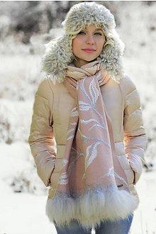 Čiapky - Zimný elegantný set - 7403776_