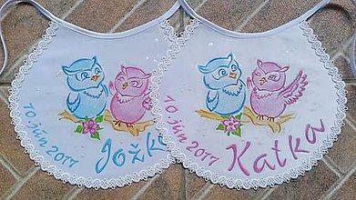 Iné oblečenie - svadobné podbradníčky - 7407558_