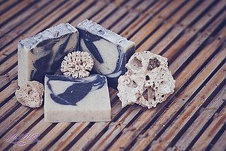 Drogéria - Mydlo s bahnom z Mŕtveho mora a s čajovníkovým olejom (90gr) - 7406052_