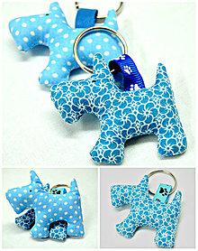 Kľúčenky - Kľúčenka psík - 7403921_