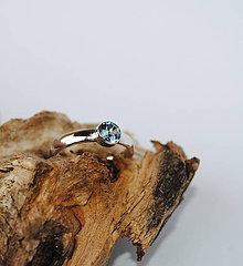 Prstene - Snubný prstienok ( Lágrima 3) - 7408380_