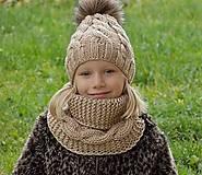 Detské čiapky - setik - 7411157_