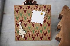 - Natur vianočná pohľadnica  - 7411110_