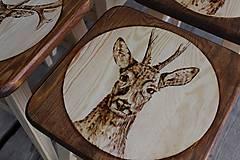 Nábytok - drevený stolček - 7412068_