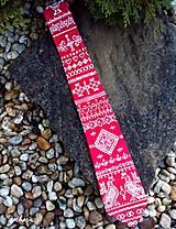 - Hodvábna maľovaná kravata- Čičmiasky odkaz - 7409178_