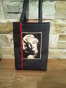 Veľké tašky - Taška MM RED:-) - 7412463_