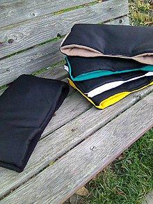 Textil - Rukávnik s farebným vnútrom - 7411112_