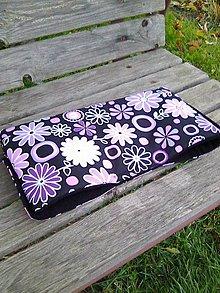 Textil - rukávnik kvetinkový - 7411177_