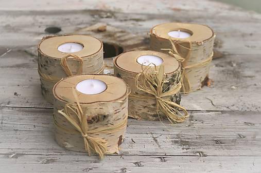 Svietidlá a sviečky - Svietnik Betula  - 7409256_