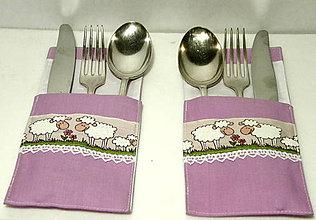 Úžitkový textil - Veselá súprava na stolovanie - 7409257_