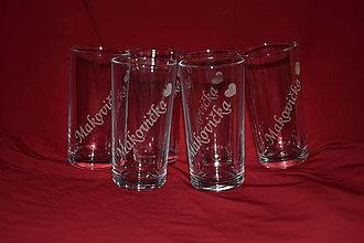 Nádoby - Sada gravirovaných pohárov na želanie - 7410925_
