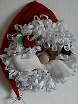 Dekorácie - Vianočný veniec - 7412342_