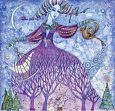 Obrazy - Sněhová královna - 7408248_