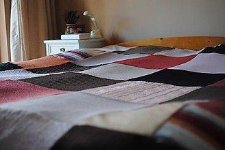 Úžitkový textil - Vierkina deka - 7410958_