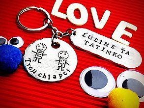Kľúčenky - Tatinko Ľúbime Ťa Tvoji chlapci ! :) - 7414166_