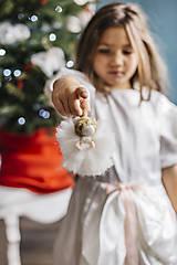 - Mini anjelik na vianočný stromček - 7413644_