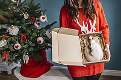 Dekorácie - Veľký vianočný anjel na stromček - 7413665_