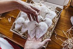 Dekorácie - Anjelské krídla na stromček - 7413952_