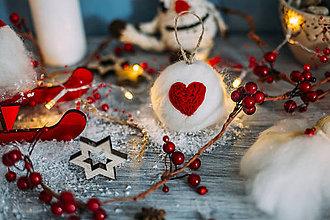 Dekorácie - Guľa na vianočný stromček - 7413708_