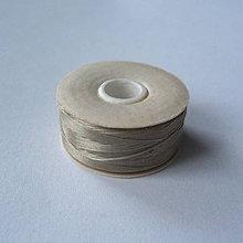 Galantéria - Niť NYMO-1ks (0,30mm/59m-šedo/béžová) - 7418110_