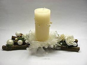 Svietidlá a sviečky - Biely - 7417211_