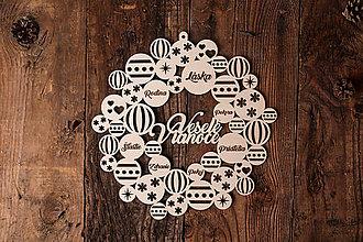 Dekorácie - Vianočný veniec - Čaro Vianoc 2 - 7417062_
