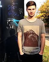 Tričká - Pánske horské tričko. Gerlachovský štít - 7414475_