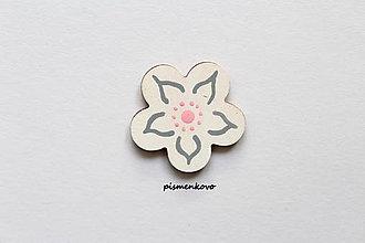 Magnetky - Kvetinka maličká - 7417637_