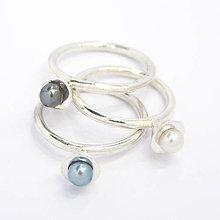 Prstene - Perličkový - 7417212_