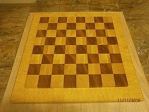 Nábytok - Šachová doska - šachovnica č.1. - 7417787_