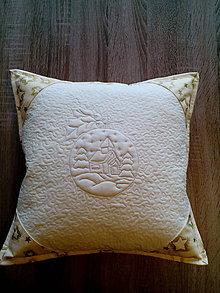 Úžitkový textil - Vianočný vankúš - 7414203_