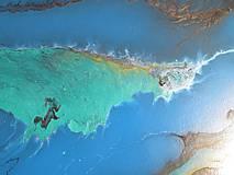 Obrazy - Zrod pevniny - veľký obraz na 3D plátne - 7417304_