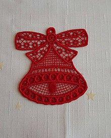 Dekorácie - Vianočná ozdoba zvonček č. 29 - 7418388_
