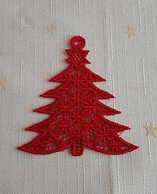 Dekorácie - Vianočná ozdoba stromček č. 28 - 7418403_