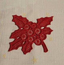 Dekorácie - Vianočná ozdoba imelo č. 20 - 7418439_