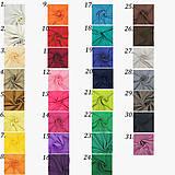 Sukne - Spoločenská saténová sukňa rôzne farby - 7416563_