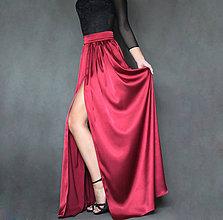 dfa6bfbf31a4 Sukne - Spoločenská saténová sukňa rôzne farby - 7416744