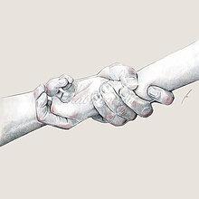 Kresby - Lovers - 7414394_