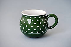 Buclák 8 cm putík - zelený 0,25 l
