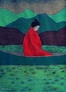 Kresby - Pani Kijoto - 7414353_