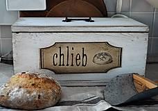 Nádoby - Chlebník v bielom - 7413913_